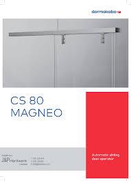 Dorma CS 80 MAGNEO